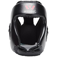 Professionalボクシングムエタイ格闘技トレーニングスペアリングHeadgear without頬by Wesing