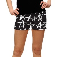 LoudMouth Ladies Shooting Stars StretchTech Mini Shorts【ゴルフ レディース>パンツ】