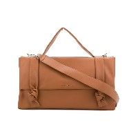 Orciani structured tote bag - ブラウン
