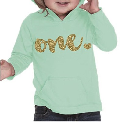 Girl First Birthday Shirt, First Birthday Outfit, One Year Old Outfit (12 months, Ice Green) by...