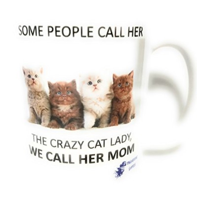 Some People Call Her The Crazy Cat Ladyマグカップ11オンスホワイトby Treasure Gates
