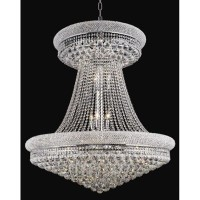 Primo 28ライトLarge Chandelier withクリアクリスタル 1800G36SC/RC 1