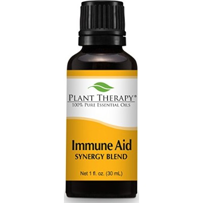 Immune-Aid Synergy Essential Oil Blend. 30 ml (1 oz). 100% Pure, Undiluted, Therapeutic Grade. ...