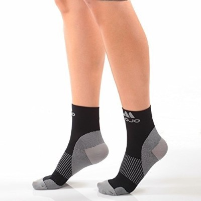Plantar Fasciitis Compression Foot Sock - Graduated medical compression (XL, Black Closed Toe) by...