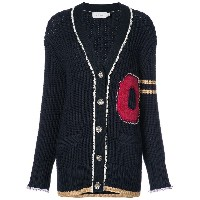 Coach knitted varsity cardigan - Unavailable