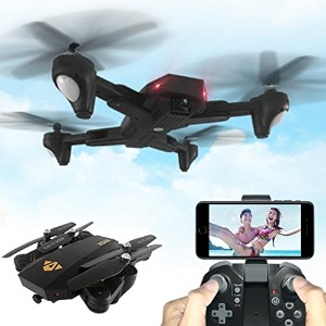 leewa @ visuo xs809hw WiFi FPV折りたたみ式RCクアッドコプター、2.4G 4CH 6軸Altitude Hold関数リモートコントロールDrone with...