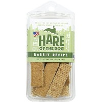 Hare of the Dog 100% Rabbit Big Dog Jerky Treats by Hare of the Dog
