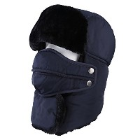topnacaユニセックス大人用冬Trapper Bomber Hat with Mask and Neck Warmer防水、熱暖かいロシアスタイル雪のスキーハンティングウォーキングハイキング L...