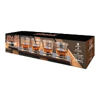Libbey 5130YS4 5 Piece Whiskey Flight, Clear by Libbey