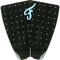 Famous Surf Fillmore Black / Blue Surfboard Traction Pad - 3 Piece by Famous Surf
