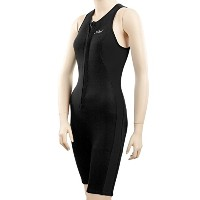Xcelレディースレーサーバックfront-zip Aqua Fitness Shorty Wetsuit 20 Tall