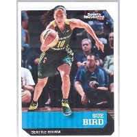 """Sue Bird 2016"""" 1st Ever Printed """" SPORTS ILLUSTRATED Seattle Stormカード。1の9。"""