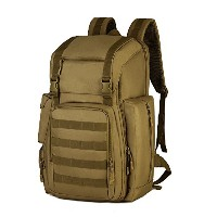 huntvp Military Tactical MolleバックパックリュックサックGear Assault Pack Bag with Shoeコンパートメントの狩猟キャンプトレッキング旅行