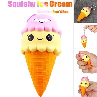 Creazy Squee Squishy IceクリームSlow Rising香りつきRelieve Stress Toyギフト