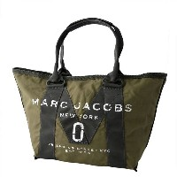 MARC JACOBS (マークジェイコブス) M0011222-313 Army Green ミリタリーロゴプリント トートバッグ スモール A4サイズ対応 New Logo Small Tote...