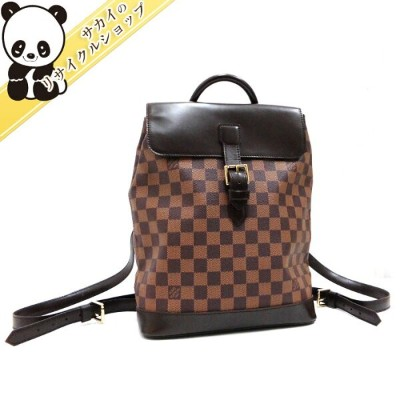 LOUIS VUITTON ルイ ヴィトン ソーホー ダミエ エベヌ リュックサック バックパック N51132 【送料無料】