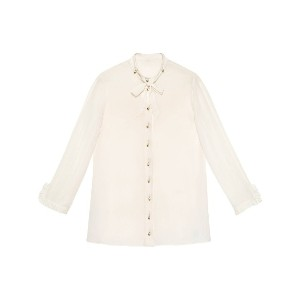 Gucci Silk button-down shirt - ホワイト