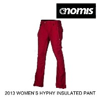 2013 NOMIS ノーミス パンツ WOMEN'S HYPHY INSULATED PANT SCARL SCARLET