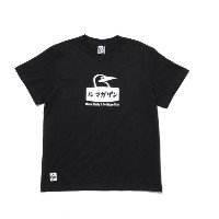 【CHUMS×LeMagasin】コラボ ル マガザンTシャツ【アダム エ ロペル マガザン/Adam et Rope Le Magasin レディス, メンズ Tシャツ・カットソー ブラック(01...