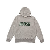 IN THE HOUSE  HOUSE COLLEGE HOODIE(Men's) グレー/グリーン 【三越・伊勢丹/公式】 メンズウエア~~パーカー