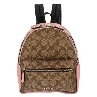 COACH OUTLET コーチ アウトレット バックパック レディース カーキ ピンク F58315 SVN3X