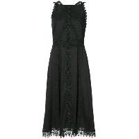 Marc Cain crocheted flared dress - ブラック