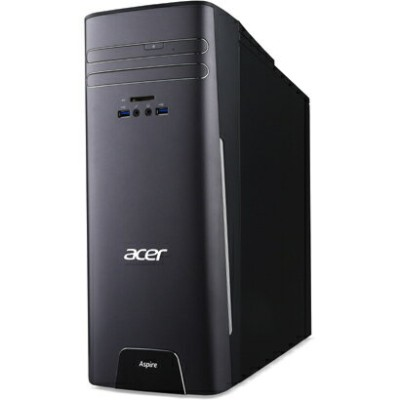 Acer(エイサー) Aspire T3 ( AT3715-H58F/G ) Windows10 Core i5-6400 メモリ 8GB HDD 1TB DVDスーパーマルチドライブ 無線LAN...