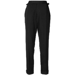 Tom Ford cropped tailored trousers - ブラック