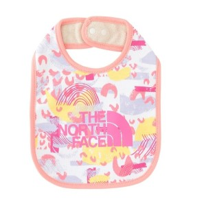 【THE NORTH FACE】BABY BIB【アダム エ ロペル マガザン/Adam et Rope Le Magasin キッズ スタイ ピンク(63) ルミネ LUMINE】