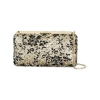 Jimmy Choo floral corded lace clutch - ヌード&ナチュラル