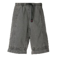 White Mountaineering panelled design shorts - グレー
