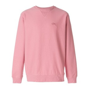 Stussy loose fit sweater - ピンク&パープル