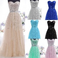 Long Formal Gown Ball Party Cocktail Evening Prom Bridesmaids Dress