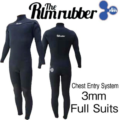 最新2018モデル THE RLM RUBBER LIMITED GTR Chest 3mm FULL WET SUITS
