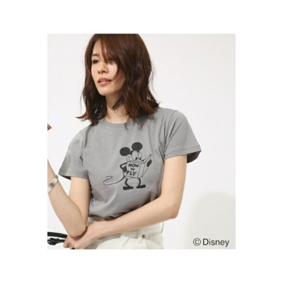 【AZUL BY MOUSSY】モノクロ OLD MICKEY TEE【MOOK46掲載 94027】 AZUL BY MOUSSY/アズール バイ マウジー/レディース/トップス カットソー...