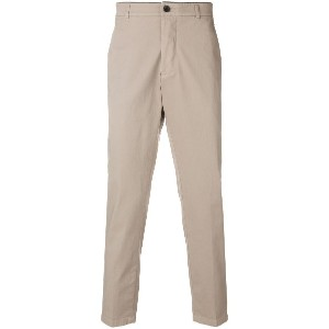 Department 5 tailored fitted trousers - ヌード&ナチュラル