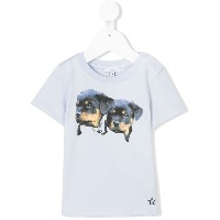 Givenchy Kids プリントTシャツ - ブルー