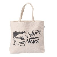 【VANSアパレル】 ヴァンズ トートバッグ VANS TOTE BAG VN0A36VPPA6 18SP I WANT VANS