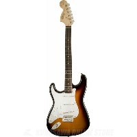 SQUIER Affinity Series Stratocaster, Left-Handed, Rosewood Fingerboard, Brown Sunburst《エレキギター》...