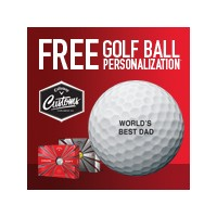 Callaway 2018 Free Personalization Chrome Soft Golf Balls【ゴルフ 特注/オーダーメイド>特注-ボール】