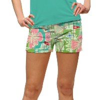 LoudMouth Ladies Baffing Spoon StretchTech Mini Shorts【ゴルフ レディース>パンツ】