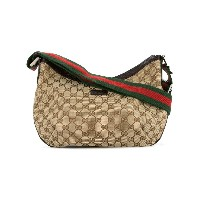 Gucci Vintage GG Shelly Line bag - ブラウン