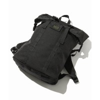 MIS / エムアイエス : made in calif.U.S.A ROLL UP BACKPACK【ジャーナルスタンダード/JOURNAL STANDARD メンズ リュック ブラック ルミネ...