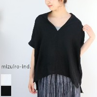 mizuiro ind (ミズイロインド)mizuiro-ind.mizuiro-ind.high neck P/O 2colormade in japan2-237576【NEW】【★】