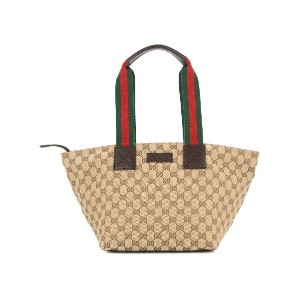 GUCCI PRE-OWNED Sherry Line トートバッグ - ブラウン