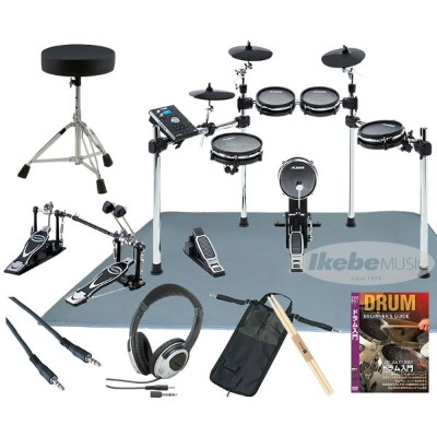 ALESIS 《アレシス》 COMMAND MESH KIT Extra Set w/Twin Pedal【d_p5】