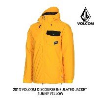 2013 VOLCOM ボルコム ジャケット DISCOURSE INSULATED JACKET SUN