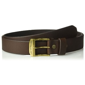 (リーバイス メンズ ベルト) Levi s Beveled Edge Leather Bridle Belt