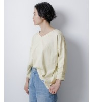 DOORS ORCIVAL 別注40/2STRIPE V NECK T-SHIRTS【アーバンリサーチ/URBAN RESEARCH レディス Tシャツ・カットソー 別注OYSTER ルミネ...