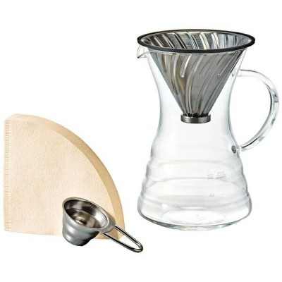 ハリオ V60 POUR OVER DECANTER VPD-02HSV (実用容量: 700ml)